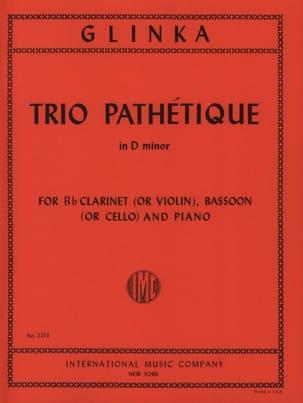Trio Pathétique in D minor -Clarinet bassoon piano laflutedepan