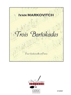 3 Bartokades - Ivan Markovitch - Partition - laflutedepan.com