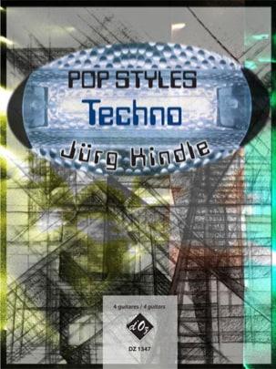 Pop Styles - Techno Jurg Kindle Partition Guitare - laflutedepan
