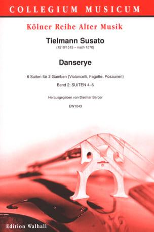 Danserye Vol. 2 - 2 Violes de Gambe Tielman Susato laflutedepan