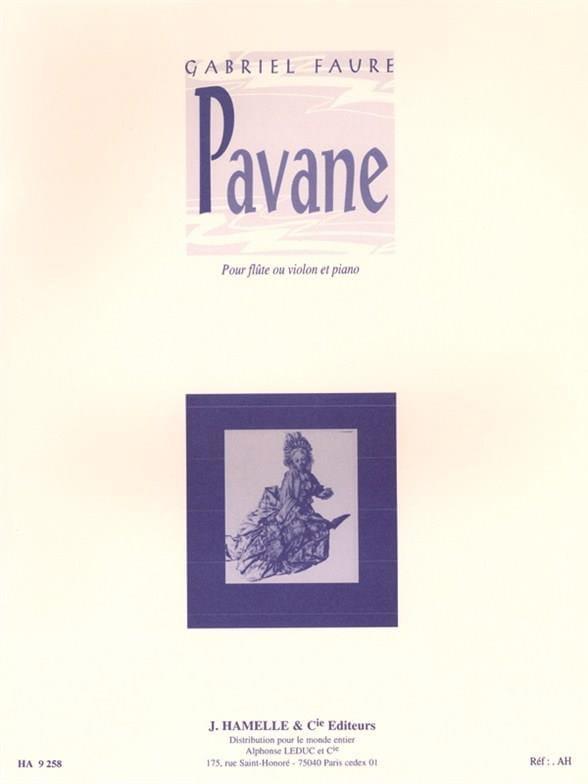 Pavane Op. 50 - FAURÉ - Partition - laflutedepan.com