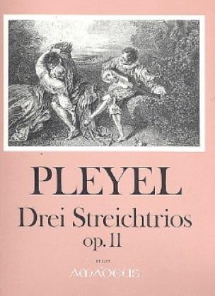 3 Streichtrios op. 11 -Stimmen - Ignaz Pleyel - laflutedepan.com