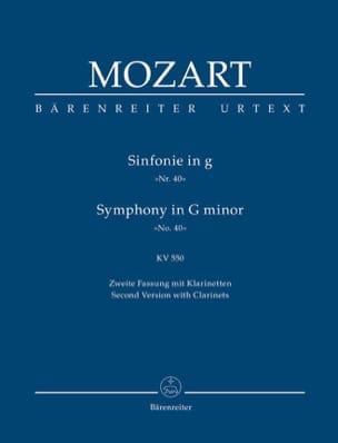 Symphonie Nr. 40 g-moll KV 550 2. Fassung - Partitur laflutedepan