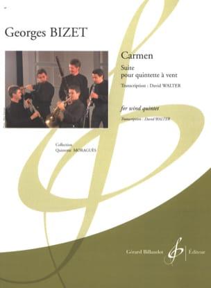 Carmen Suite -Quintette à vent BIZET Partition laflutedepan