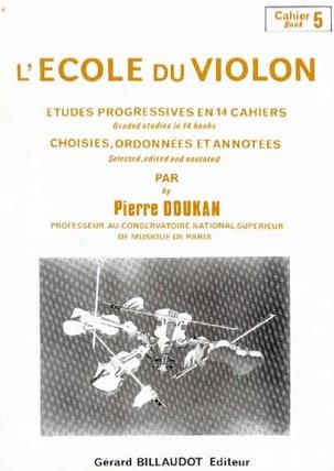 L' Ecole du Violon Volume 5 Pierre Doukan Partition laflutedepan