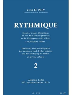 Rythmique - Volume 2 Prev Yvon Le Partition Solfèges - laflutedepan