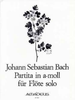 Partita en la Mineur BWV 1013 - flute seule BACH laflutedepan