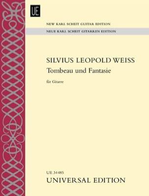 Tombeau Und Fantasie Silvius Leopold Weiss Partition laflutedepan