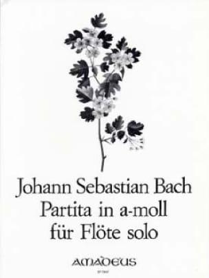 Partita en la Mineur BWV 1013 - flute seule - BACH - laflutedepan.com
