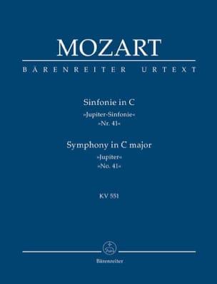 Symphonie Nr. 41 C-Dur KV 551 Jupiter - conducteur MOZART laflutedepan