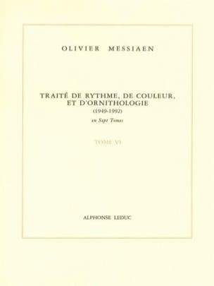Tome 6 - Traité de Rythme, de Couleur et D'ornithologie laflutedepan
