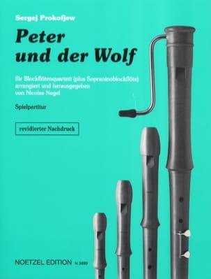 Pierre et le Loup - Ensemble de Flûtes à Bec PROKOFIEV laflutedepan