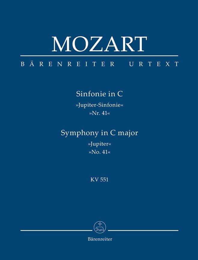 Symphonie Nr. 41 C-Dur KV 551 Jupiter - conducteur - laflutedepan.com