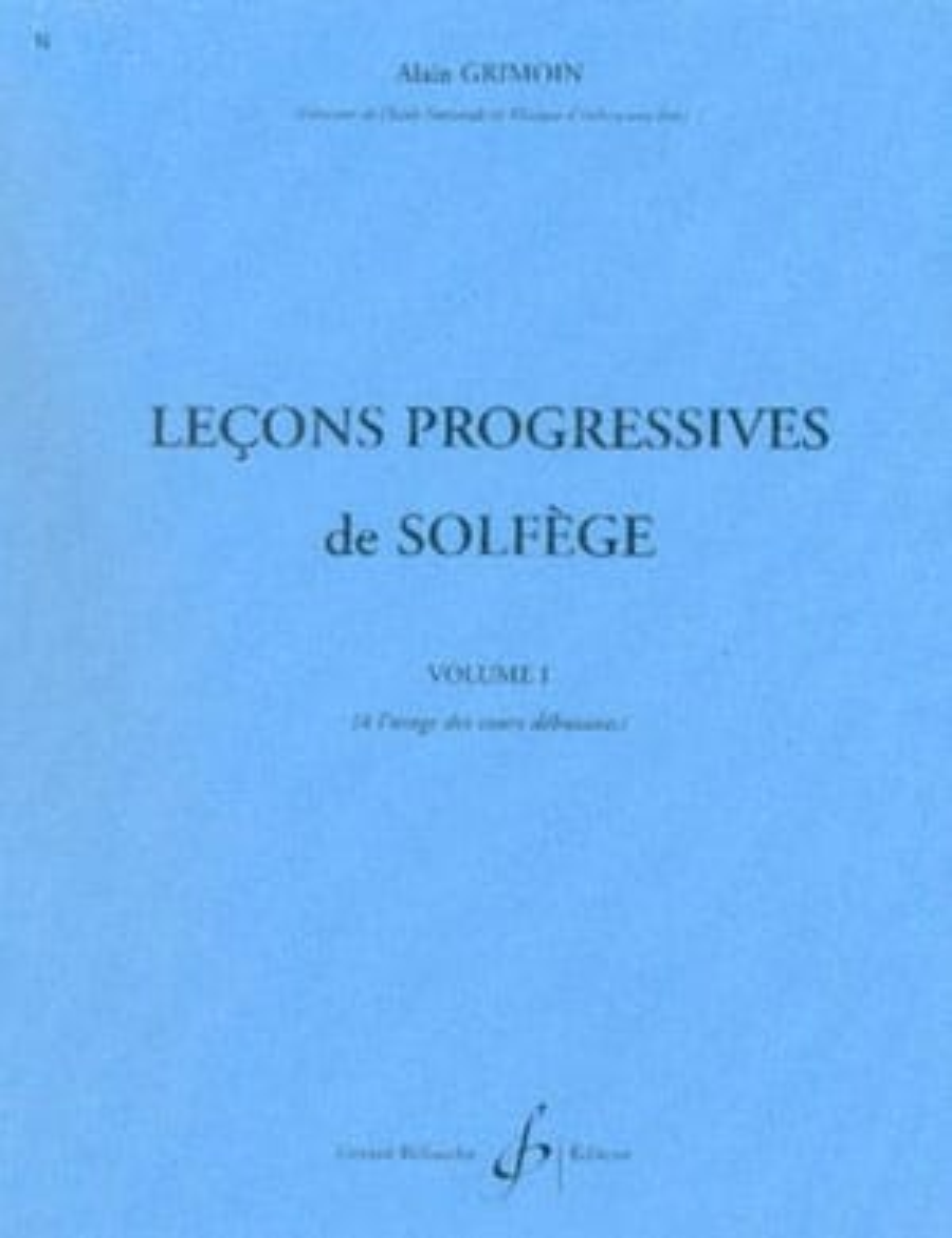 30 Leçons Progressives Volume 1 - Alain Grimoin - laflutedepan.com