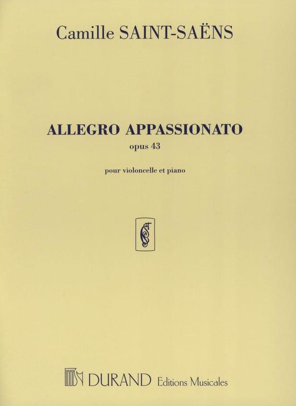 Allegro Appassionato op. 43 - SAINT-SAËNS - laflutedepan.com