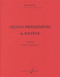 32 Leçons Progressives Volume 2 Alain Grimoin Partition laflutedepan