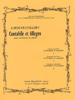 Cantabile et Allegro - Armand Semler-Collery - laflutedepan.com