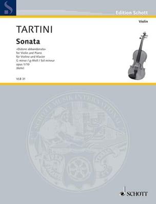 Sonate Didone abbandonata op. 1 n° 10 - TARTINI - laflutedepan.com