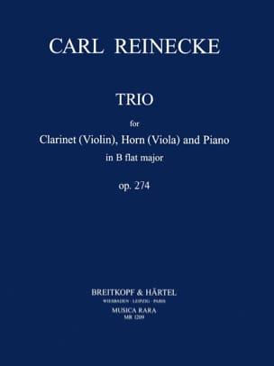 Trio in B Flat op. 274 -Clarinet horn viola piano laflutedepan