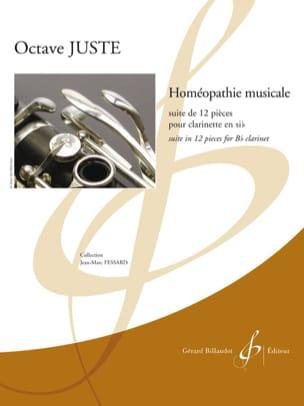 Homéopathie musicale Octave Juste Partition Clarinette - laflutedepan