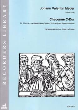 Chaconne en Do Majeur - Trio 2 Flûtes et BC - laflutedepan.com