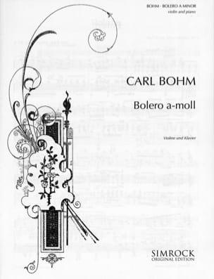 Bolero Carl Böhm Partition Violon - laflutedepan