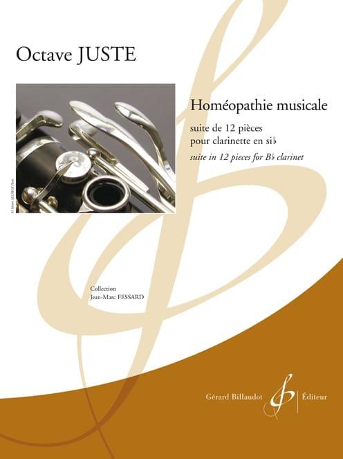 Homéopathie musicale - Octave Juste - Partition - laflutedepan.com