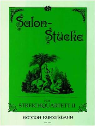 Salon-Stücke - Bd. 2 - Streichquartett - Stimmen laflutedepan