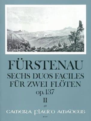 6 Duos faciles op.137 - Volume 2 Anton Bernhard Fürstenau laflutedepan
