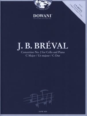 Concertino N° 2 en Ut Maj. Jean-Baptiste Bréval laflutedepan