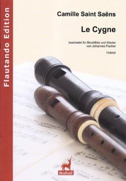 Le Cygne - Flûte à Bec et Piano - SAINT-SAËNS - laflutedepan.com