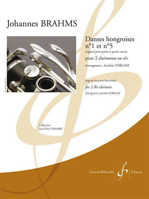 Danses hongroises n°1 et n°5 - BRAHMS - Partition - laflutedepan.com