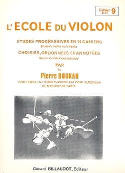 Pierre Doukan - La escuela de violín vol. 9 - Partition - di-arezzo.es