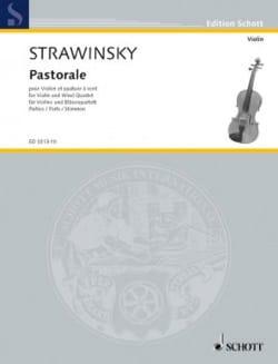 Pastorale - Violon et quatuor à vent - Parties - laflutedepan.com