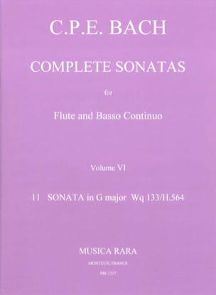 Complete sonatas Volume 6 - Flute Bc laflutedepan