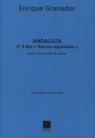 Andaluza Danzas esp. n° 5 - Violoncelle GRANADOS laflutedepan