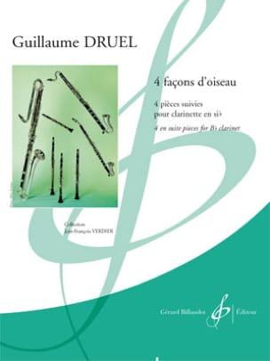 Quatre façons d'oiseau - Clarinette Guillaume Druel laflutedepan