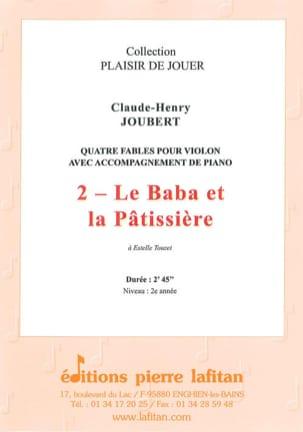 Le Baba et la patissière Claude-Henry JOUBERT Partition laflutedepan