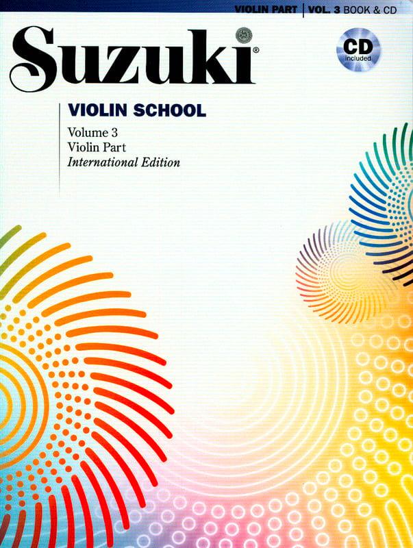 Violin School Vol.3 - SUZUKI - Partition - Violon - laflutedepan.com