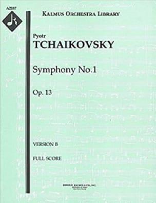 Symphony No 1 In G Minor, Op. 13 - TCHAIKOVSKY - laflutedepan.com