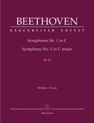Symphonie Nr. 1 C-Dur op. 21 - Conducteur BEETHOVEN laflutedepan