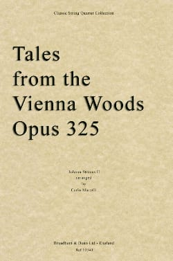 Tales From The Vienna Woods Op.325 - String Quartet laflutedepan