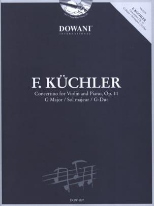 Ferdinand Küchler - Concertino In Sol Maj. Op.11 - Partition - di-arezzo.co.uk