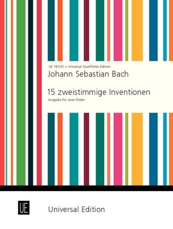 15 Zweistimmige Inventionen - 2 Flöten - BACH - laflutedepan.com
