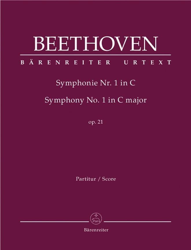 Symphonie Nr. 1 C-Dur op. 21 - Conducteur - laflutedepan.com