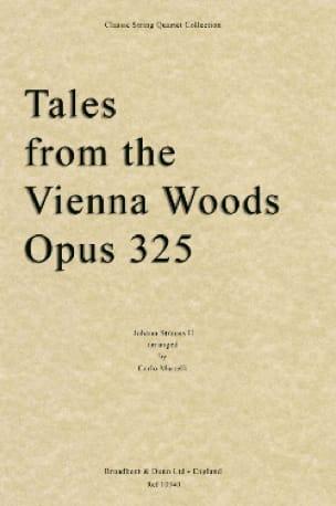 Tales From The Vienna Woods Op.325 - String Quartet - laflutedepan.com