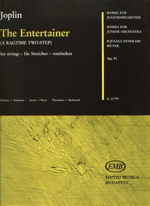 The Entertainer - String orch. JOPLIN Partition laflutedepan