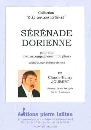 Sérénade Dorienne Claude-Henry Joubert Partition Alto - laflutedepan