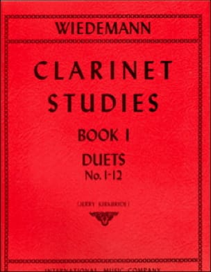 Clarinet Studies - Volume 1 - Ludwig Wiedemann - laflutedepan.com
