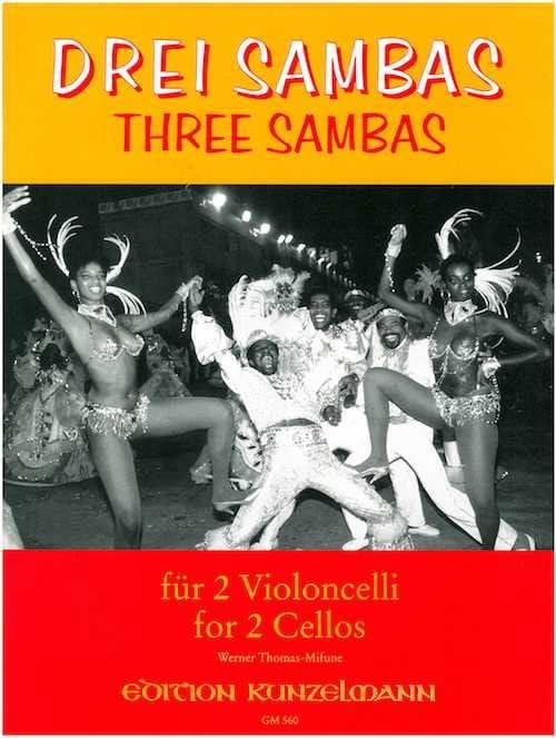 3 Sambas - 2 Cellos - Werner Thomas-Mifune - laflutedepan.com